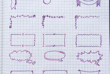 Handwriting and notes