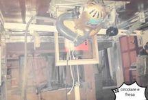 circolare , fresa , fai da te , autocostruita / Fai da te , circolare , fresa ,macchina per lavorazione legno
