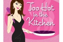 "SIZZLE IN YOUR KITCHEN for Valentine's Day / Women's wellness cookbook with fun quotes, easy 30-minute recipes with FOOD FOR THE MOOD or DIVA DERMATOLOGY-perfect gift for mom, girlfriend, mother or YOU!! Stay ""hot"" in the kitchen!  Photos, nutritional information and tools to keep you sizzling!"