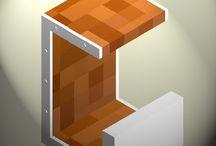 sGabello Gi / progettazione e realizzazione grafica di un elemento d'arredo