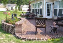 Backyard renovation ideas / by Beaute' J'adore