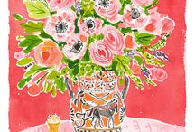 Tiger Flower Studio Artwork / A look at the artists and artwork featured on the art website Tiger Flower Studio.