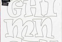 tekeningen letters