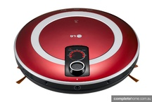 Robot Vacuums / Ever wondered what it would be like to have a high-tech helper? Here's some tips on which ones will make your home interiors squeaky clean.