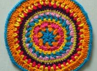 Mandala Wheels 12 / Crochet mandalas created for Yarndale 2014