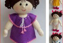 bonecas e bichinhos croche e trico