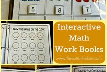 Maths Work activities autism