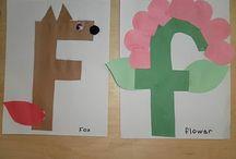 "Letter ""F"" Crafts / by Vicky Engdahl"