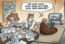 Educational Cartoons by Slane
