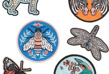 Patches and Pins / Collecting together my favourite patches and enamel pins by independent designers, makers and indie brands!