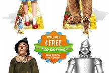 Wizard Of Oz Cardboard Cutouts / Having a Wizard of Oz Themed party?  We've got you covered with our amazing new Wizard Of Oz cardboard cutout range featuring the classic characters: Dorothy, The Tin Man, The Cowardly Lion, The Scarecrow and an extra special child size stand-in of all 4 characters walking down the yellow brick road!