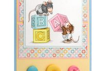 House Mouse Cards / Handmade cards created with House Mouse Stamps