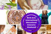 Upcoming Workshops for Birth Arts International / Our upcoming workshops for Birth Arts International. www.birtharts.com
