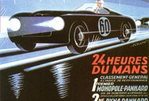 Le Mans Posters over the Years / The Art and Design of the Posters for the Famous Race