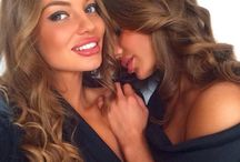 Kristina & Anya Grushin / Twins, Russia, Model, DJ, Dress, Fashion, Musik, Sport