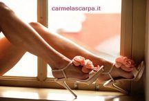 Carmela Scarpa / Carmela Scarpa Calzature da #Sposa e Cerimonia a Trani (Bt - Puglia) propone #scarpe da sposa bellissime, impreziosite di Swarovsky, fiori, cinturini, classiche ma sempre con un tocco particolare.