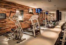 Gym/ruang olahraga / Temukan inspirasi desain ruang olahraga untuk dibangun di rumah anda, hanya di homify.