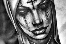 Dia Muertas Nun
