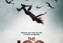 the 100 / a tv series called the 100. You should watch it!!