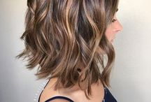Cabelos iluminados | Highlighted hair