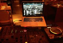 DJing / Different places, different views. Pictures taken from my dj desk at my venues.