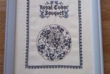 Grindley Servies Royal Tudor Bouquet Blue