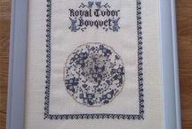Grindley Servies Royal Tudor Bouquet Blue
