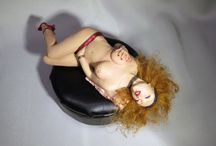 Fading Pureness - Erotic Series OOAK - by EuriKlea / One Of A Kind Doll Sculptures