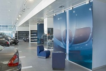 Interiors - Movable Walls / Interior movable walls that can be used for displaying art in flexible configurations.