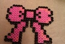 hama beads bow