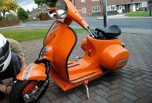 Vespa Scooter Race Custom & Modification