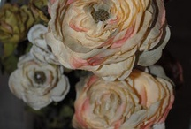 Fabric and Paper Flowers II / by Ramona Nolen Dunn