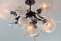 Lighting Inspiration / from chandeliers to lamp shades - check out some of our favorite creative lighting displays and bright ideas!   / by Lamps.com