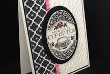 Cards - Stampin Up Tea Party