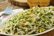 soguk mezeler ve salatalar