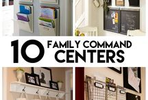 COMMAND CENTERS / by Mary