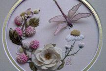 Bordados/ Embroidery 2 / Hilos, cintas , agujas etc. / by Susana Hyrka Rivero