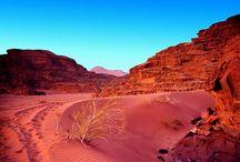 Вади-Рам / Потрясающий ландшафт Вади-Рама должны обязательно увидеть все гости Иордании.