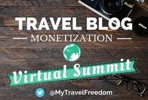 Travel Blog Monetization Summit / Monetize Your Travel Blog The Right Way. Don't waste time trying to figure it out by yourself. Learn from leading industry experts who have built successful travel blogs – and get paid for it! Learn from blogging industry leaders exactly how to turn your blog into a money making business.