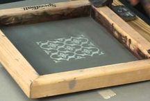 Block Printing: school paints / Block Printing educational school painting