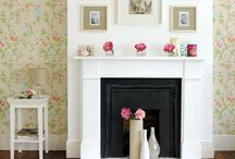 When your fireplace isn't in use... / A collection of inspirational ideas to help you decorate your fireplace when it is not in use.