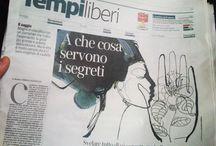 Corriere della Sera, watercolor illustrations / Illustration for Corriere della Sera, watercolor