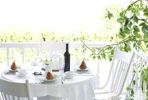 outdoor dining and entertaining