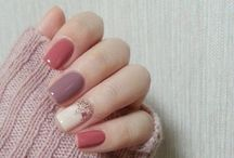 Nails in colours