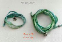 """Mama & Me Bracelets / One of the world's most beautiful love stories written on a silk string.  """"There is nothing as powerful as a mother's love and nothing as healing as a child's soul."""""""