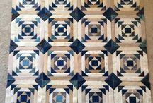 cream quilts