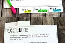Math - Problem Solving / Ideas and inspiration for teaching problem-solving skills.