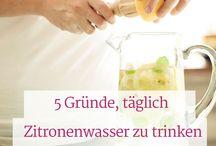 Abnehmen mit Zitronenwasser