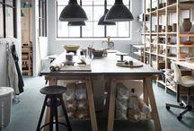 Ikea ivar, atelier