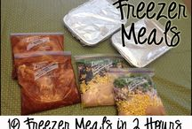 Freezer meals / Croc pot dinners